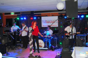 Coverband Paramounts